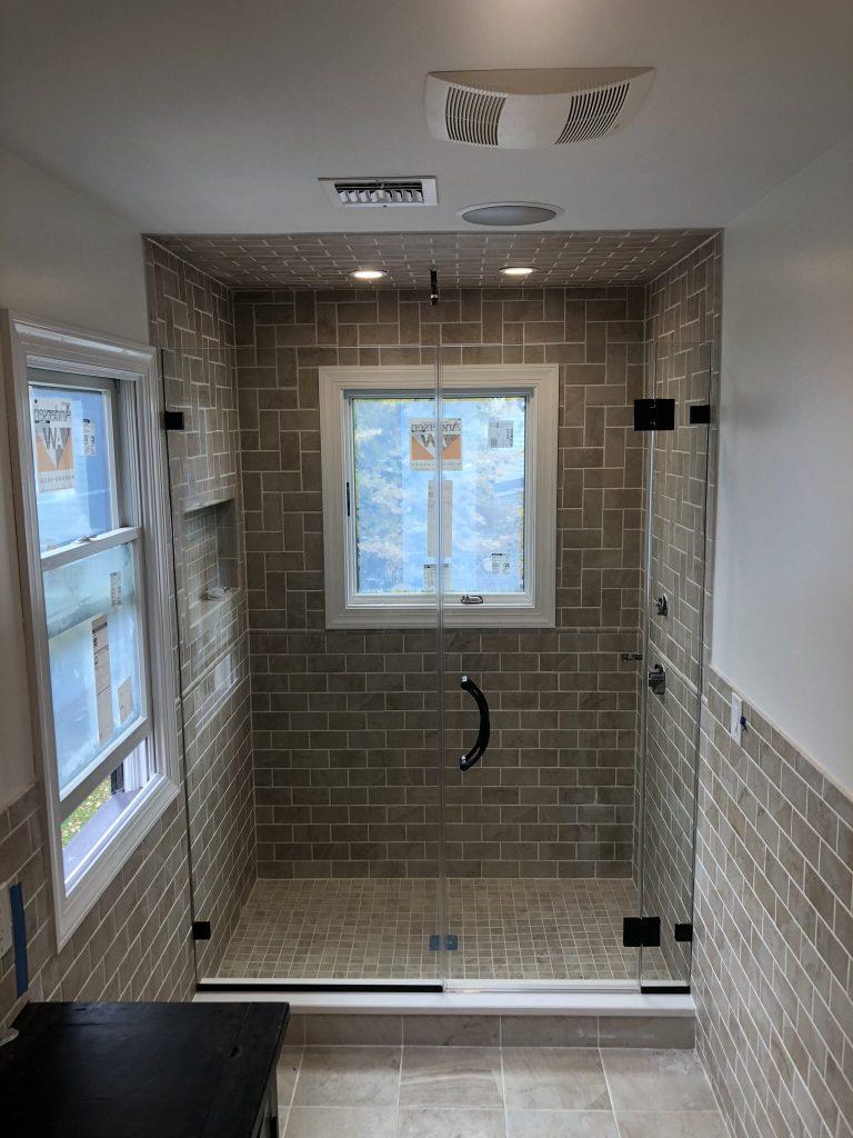 crescent shower door system in Manhattan NYC