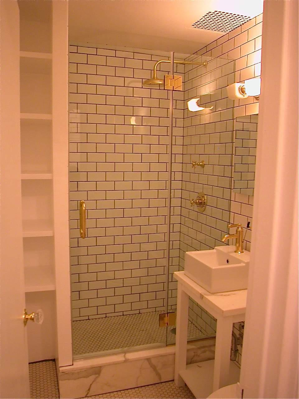 polished brass d&p copy - Manhattan Shower Doors